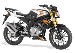 RS3 Naked 125 2016 Orange